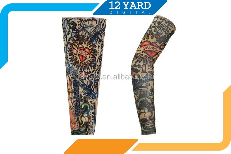 art printed sport wear championships decorative cool arm sleeve
