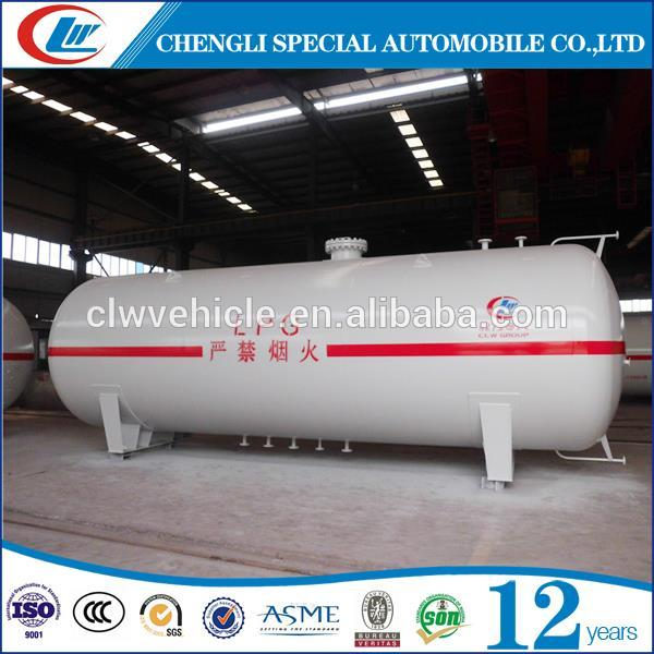 Factory Sale 5T Liquid Gas Tank 10CBM LPG Gas Tanker For Nigeria