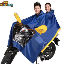 100% Waterproof reusable biodegradable Plastic rain poncho for motorcycle, rain poncho for bike with hood