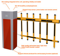 Cheap Prices high quality automatic Fence arm car parking system
