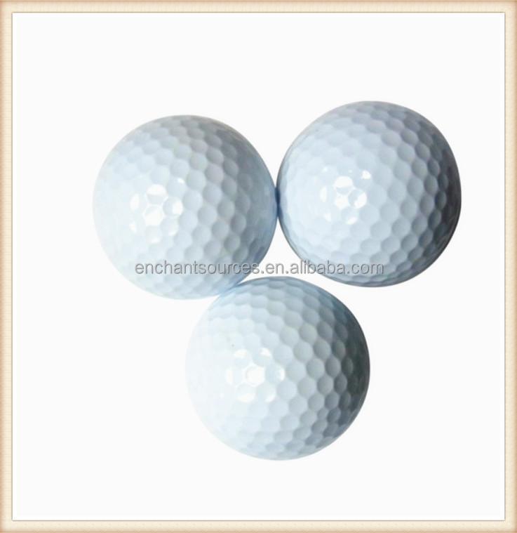 promotional logo customized blank golf ball