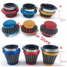 28/35/38/42/45/48/52/58MM Vintage Aluminum Dirt Bike Scooter Motorcycle Air Filter