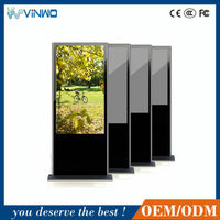 42 inch network wall mount indoor lcd advertising video screen