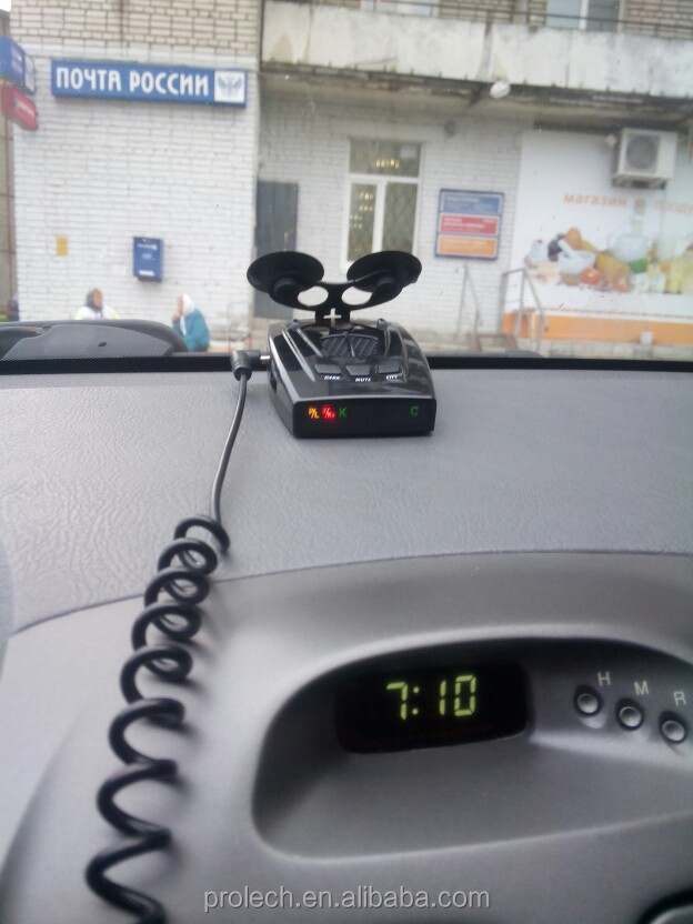 anti radar sticker used for Russian market mainly anti police radar detector