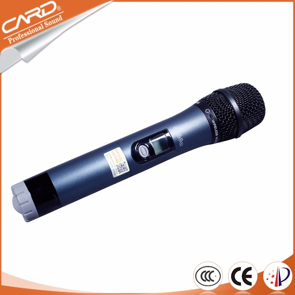 High Quality approved classical Design handheld microphone wireless set