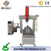 Discount price plastic cutting cnc machine, china cnc lathe 3 axis milliing machine for molding