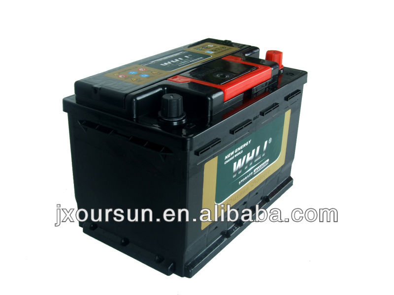Most popular 12v high performance Lead-acid car battery for supply