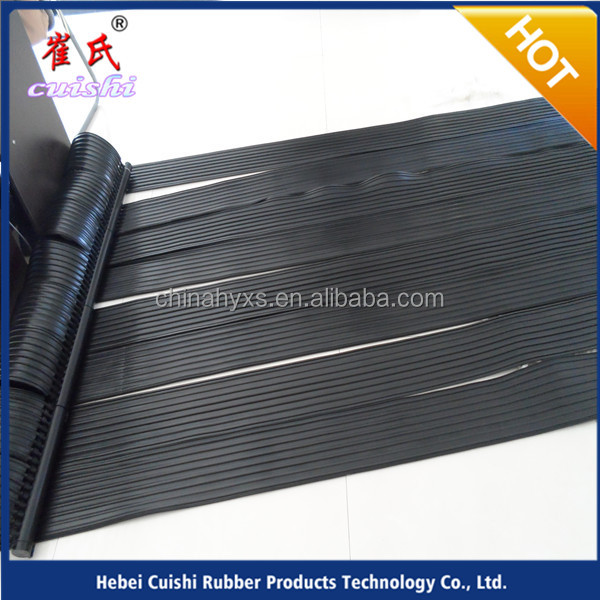 factory supply swimming pool heating rubber collector