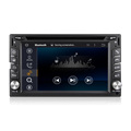 6.2 inch double din universal in dash car dvd player with GPS navigation