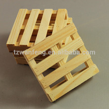 wanfeng craft wooden pallet pine wood pallet plywood pallet small pellet line