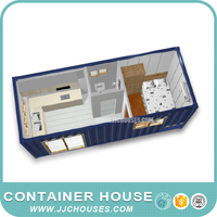 High quality mobile living house container for sale, solid living container for sale, low cost container house in south africa.