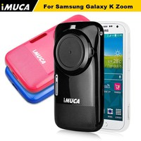 IMUCA phone case for K zoom, for Samsung Galaxy S5 zoom C1116 rubber tpu case