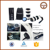 caniam 70-200mm camera lens electric coffee cup warmer car
