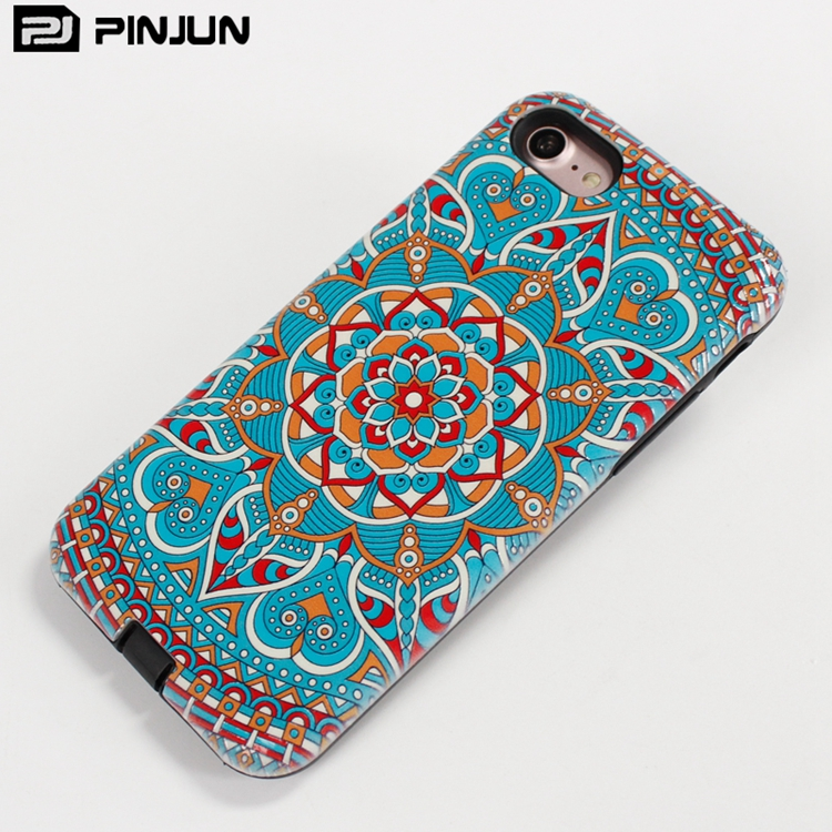Fashion free sample 3D embossed ethnic pattern custom phone cover for lg stylo 3 , for lg stylo 3 phone case