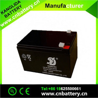 12V12AH maintenance free rechargeable battery for fire extinguisher