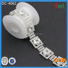 crystal rhinestone chain for cake decoration