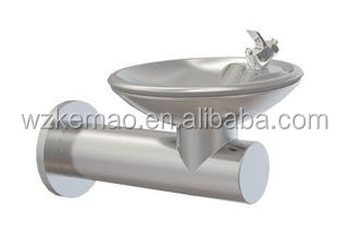Wall mounted drinking fountain, wall mounted water dispenser
