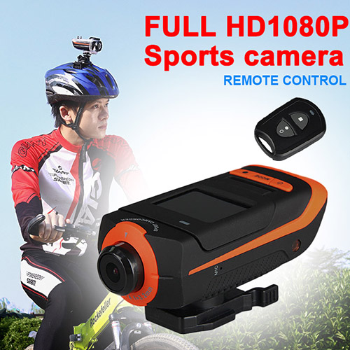 Hot sale outdoor riding digital trail camera full HD 1080P waterproof sports action camera