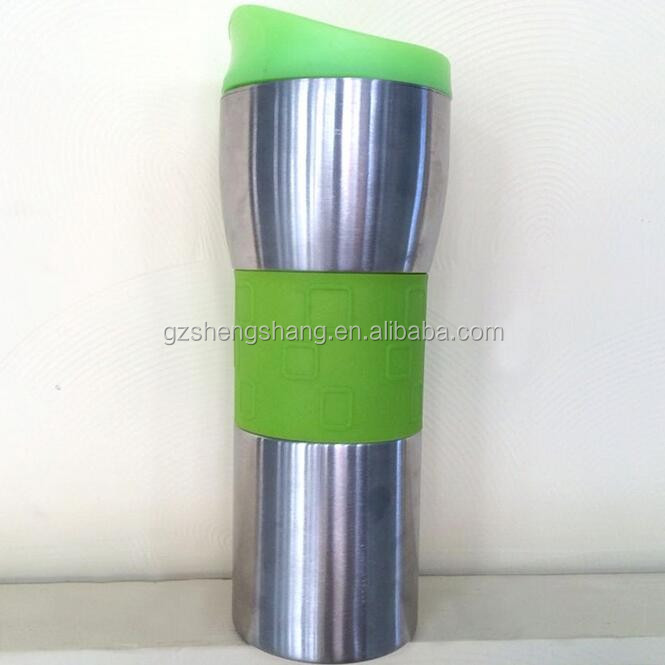 Double Walled stainless steel thermos mug
