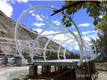 recyclable and environmental protection ETFE membrane tents for travel use