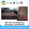Metal Roof Tiles Accessories Flat Sheet Valley Tray angle Ridge cap Box barge cover