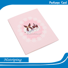 Factory directly wholesale handmade decoration fragrance Christmas greeting card printing
