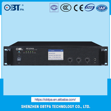 OBT-NP6650 Supply Professional Amplifier Dsp Digital Power Amplifier TCP/IP,UDP,DHCP Digital IP Network Voltage Amplifier
