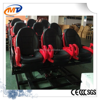 hot sale Hydraulic 9D cinema / amusement 9d cinema with luxury 6 seats