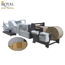 RY-620 Roll Feeding Square Bottom Paper Bag Making Machine For Sale