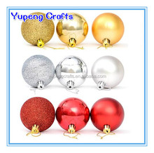 Outdoor Christmas Decorations Plastic Lighted Balls