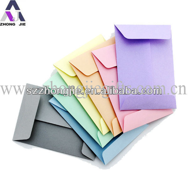 hot sale high quality small envelope