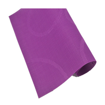 table vinyl green white purple silver place mats