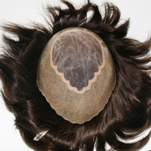 Hombre Peruk Human Remy Indian Hair Replacement System Toupee Mono Peluca Hombre Hairpieces In Stock