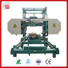 Portable Horizontal Band Saw mill Machine With Electric Motor