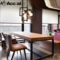 wrought iron chandeliers Industrial Light Bar table lamp led downlights hanging light fixtures modern light pendants