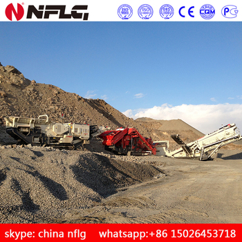 Price for mobile jaw crusher is low with good quality