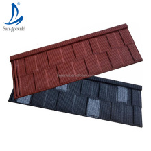 Stone Coated Steel Roofing Tile Building Material lowest roofing shingle price in Nigeria solar panel house roof