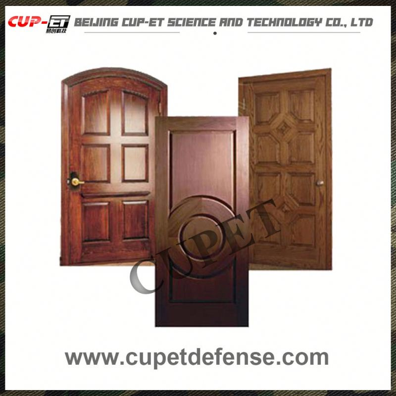 High Quality interior office steel bulletproof security bullet resistant emtry door