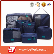 Hot sell travelling in luggage bag set 6pcs travel organizer bag