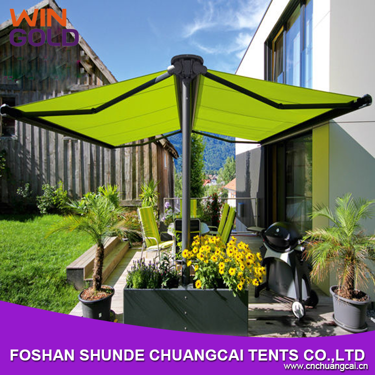 Fashion Free standing caravan movable awning for Car parking