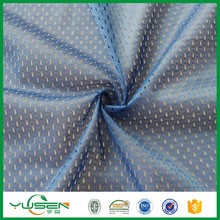 Factory direct fast dry cool max sport polyester mesh fabric to America