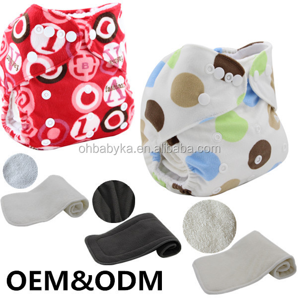 Ohbabyka eco-friendly cloth diapers grovia star printing baby loves diapers