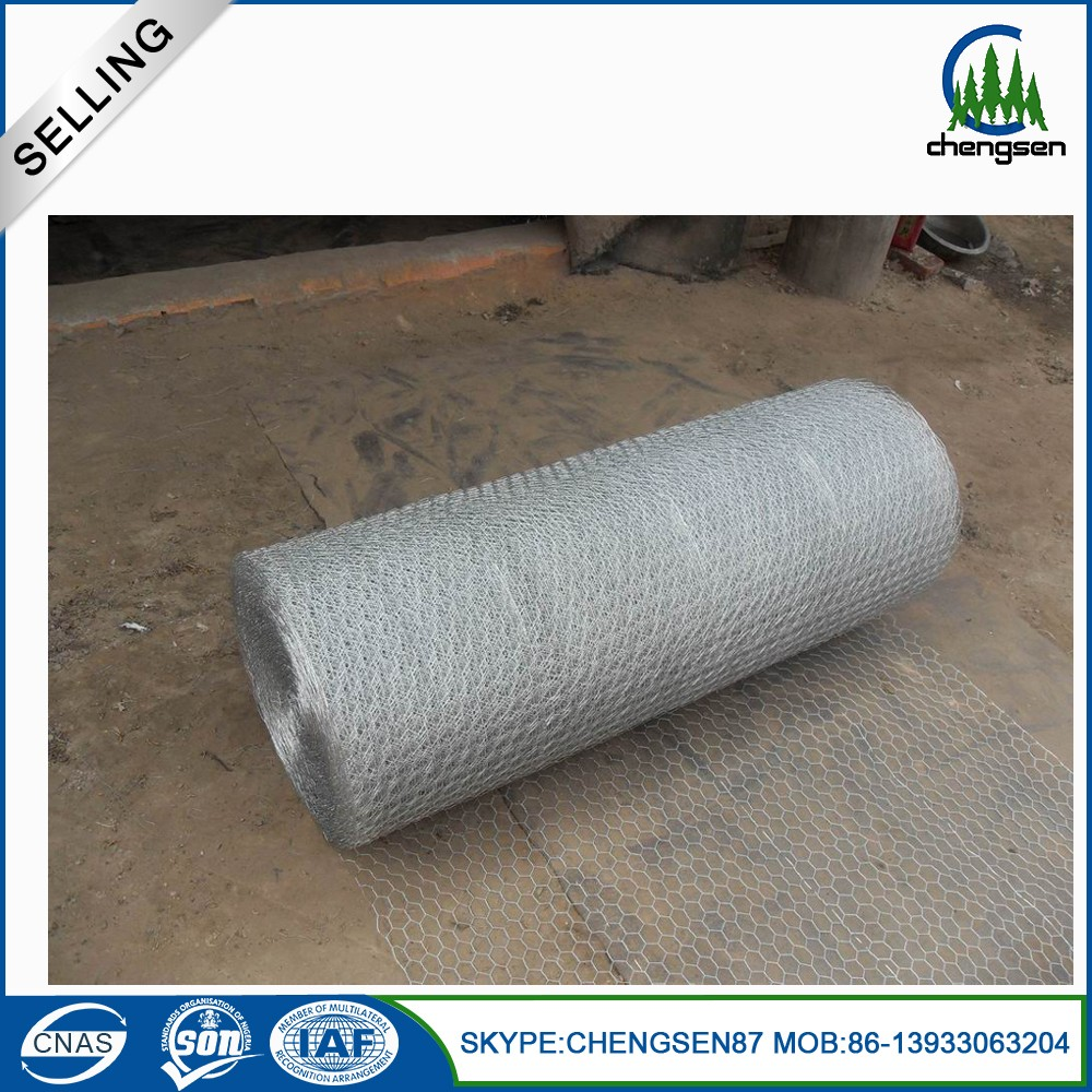 Hot dipped galvanized chicken coop hexagonal wire mesh factory price
