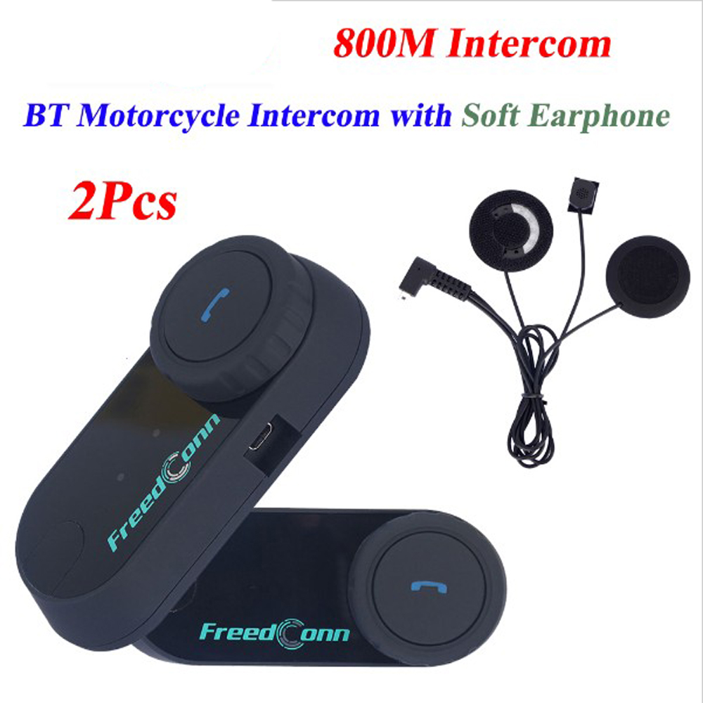 T-COM VB Motorcycle/Motorbike Helmet Headset BT Bluetooth Intercom