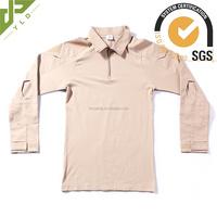 2016 new camouflage military combat shirt camo long sleeve