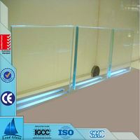10mm Clear Low Iron Tempered Glass
