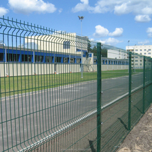 Welded Wire Panel Sectional Fence