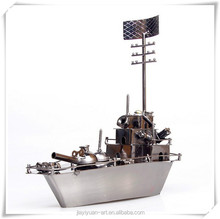 Factory Price Metal Antique Diecast Ship Model/Handmade Metal Ship Model for Home Decoration