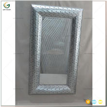 Large Metal Framed Full Length Wall Mirror