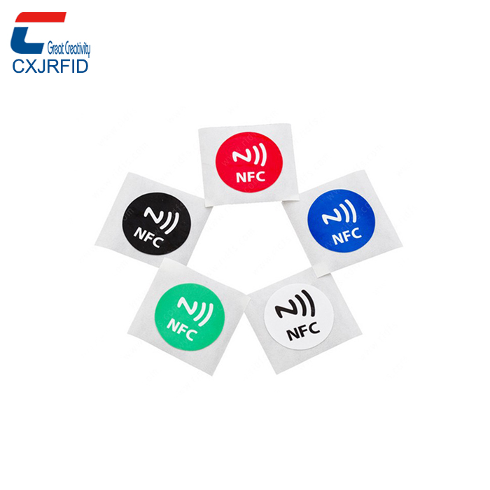 programmable 13.56 mhz paper rfid sticker passive rfid nfc ndef tag